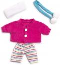 Conjunto de invierno pantalón, chaqueta, bufanda y cinta cubre orejas (21 cm)