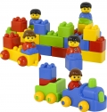 Cubos de colores (color bricks) 47 piezas