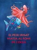 El peix Irisat viatja al fons de l'oceà.