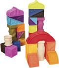 Construcción bloques blandos