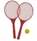 Juego de 2 raquetas color + 1 pelota