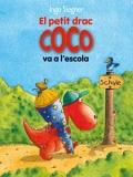 El petit drac Coco va a l'escola.