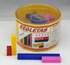 Regletas de plástico numeradas (52 piezas)